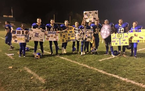 Cougar Football Senior Night