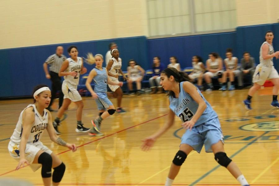 Cougar Girl's Basketball starts off the season