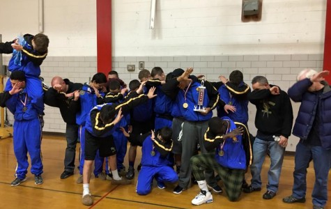 Cougar Wrestling wins Mountie Invite