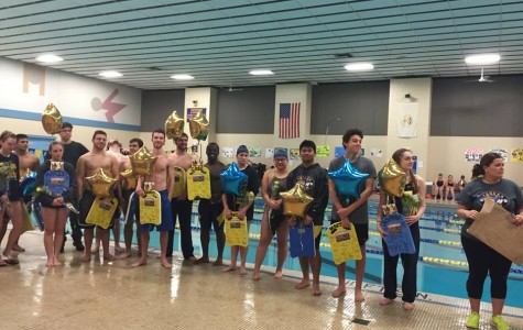 Swim Senior Night 2016