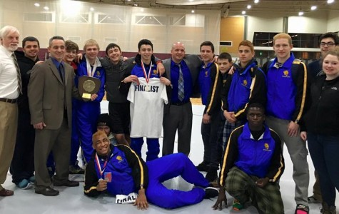 Cougar wrestlers finish successful season