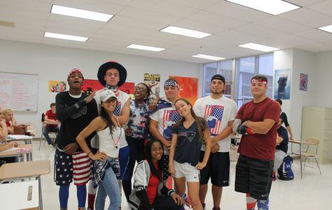 Spirit Week Pictures Day 1