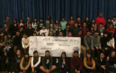 Japanese Students at NPHS