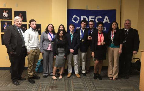 NPHS DECA Team Collects Medals at First Competition