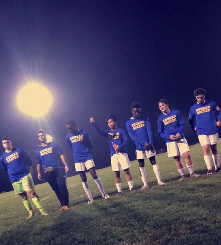 Boys Soccer Senior Night 2017