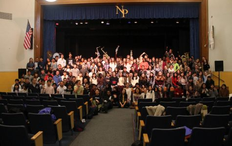 Japanese Students Visit NPHS For a Second Year