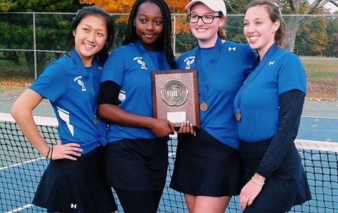 Girls Tennis Team: State Championships