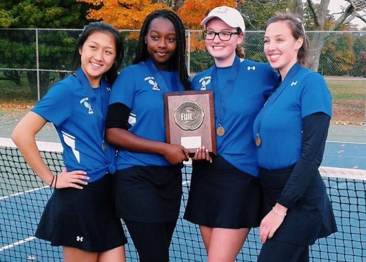 Girls Tennis Team: State Championships