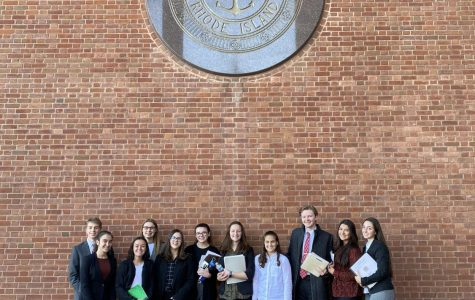 Mock Trial Defeats Mount Saint Charles!