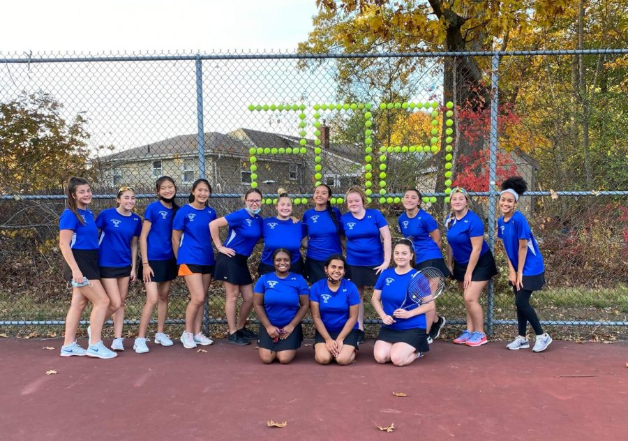 Fore-Hand It to Girls' Tennis: A Season of Firsts Amidst COVID-19