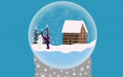 Alternate Text Not Supplied for Winter snow globe graphic.